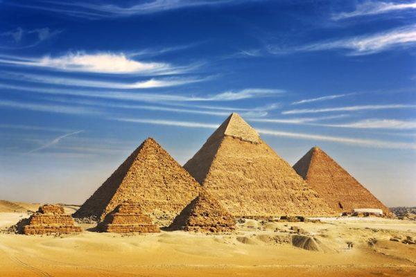 Les pyramides d'Égypte