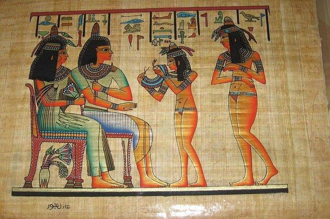 Le papyrus dans l'égyptologie